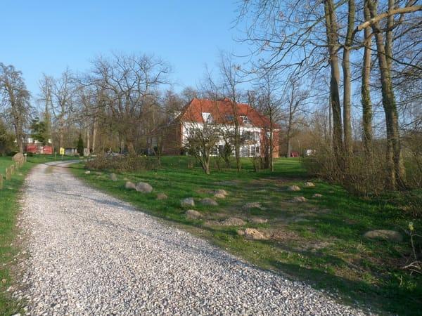 Auffahrt zum Landhaus Ostseeblick
