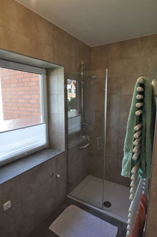Das Duschbad mit Tageslicht