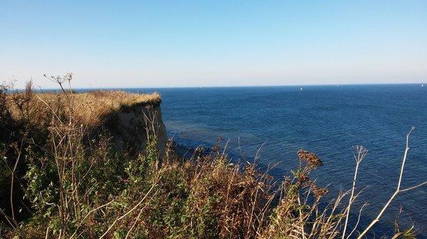 Die wunderschöne Steilküste