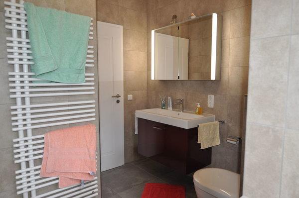 Das frisch renovierte Bad