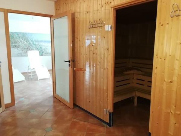 Sauna im Hause (kostenlose Nutzung)