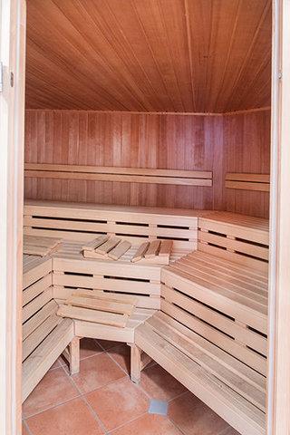 Sauna im Fitness- & Wellnessbereich