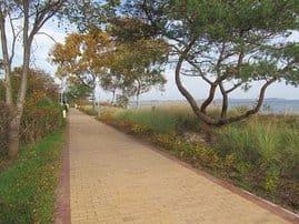 Neue Strandpromenade in Juliusruh