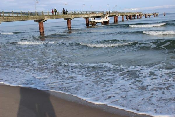 Seebrücke am Nordstrand