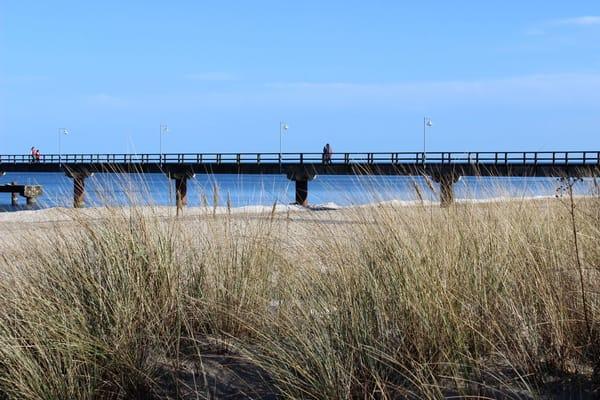 Nordstrand Seebrücke Göhren