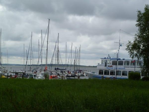 Der Hafen im Ostseebad Breege-Juliusruh