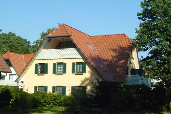 Außenansicht Ferienwohnung Deichhof Prerow