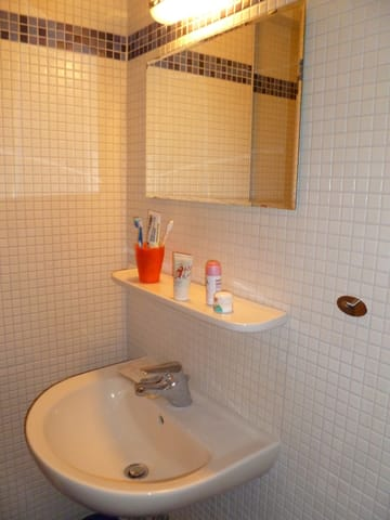 Hochwertiges Bad mit Dusche