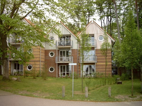 Außenansicht Ferienwohnung Haus Seeblick