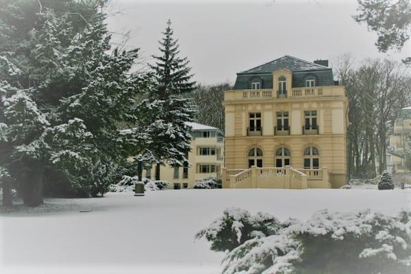 Residenz Bleichröder im Schnee