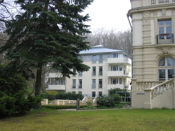 Villa Rosengarten Ansicht von der Promenade
