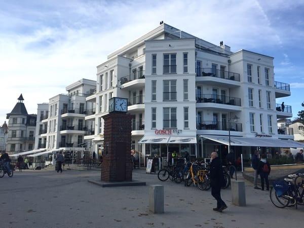Wer Gosch Sylt vermisst hat:  gibts jetzt auch auf Usedom/ Bansin, direkt am Meer und an der Konzertmuschel