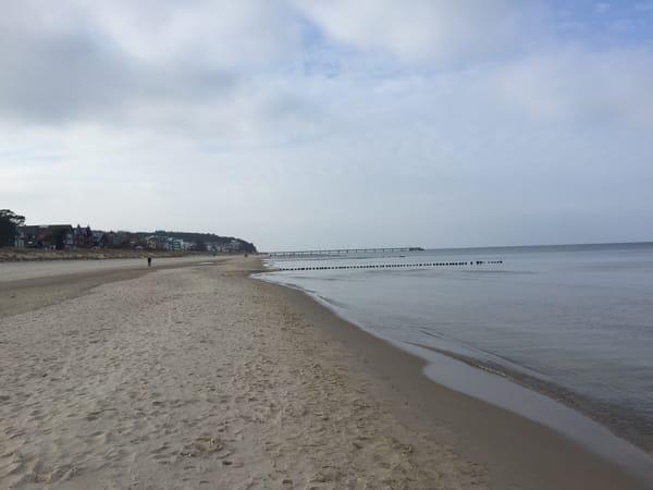 Wer die Einsamkeit liebt, fährt im späten Winter nach Usedom