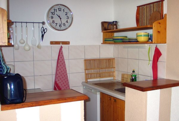 Klein aber komplett - die Kochnische