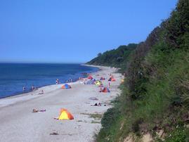 Strand ca. 150m entfernt