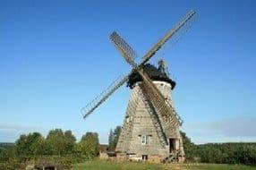 die Holländer Windmühle in Benz