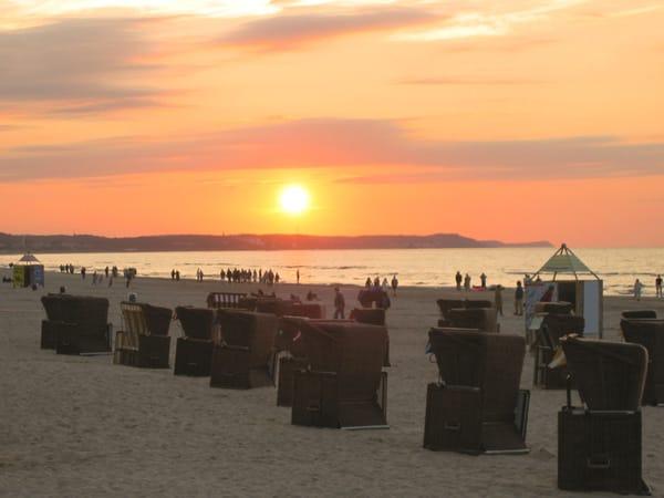 Ahlbecker Strandabschnitt