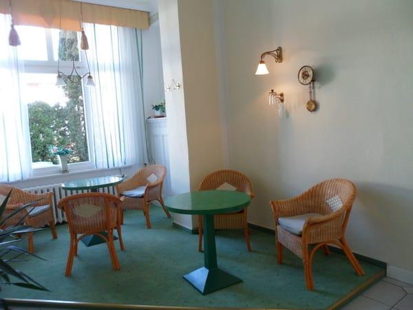 Sitzecke in der Hotelhalle