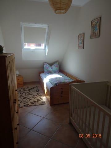 Kinderzimmer, Tandembett ausziehbar