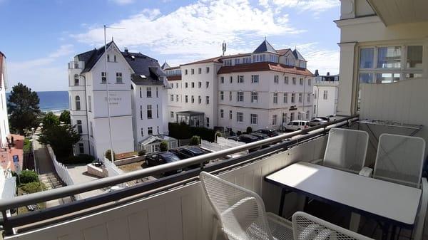 Balkon vom kleinen Zimmer