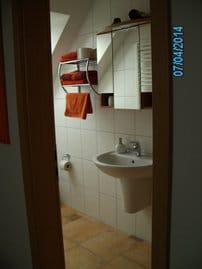 Dusche mit WC vom 2.Schlafzimmer