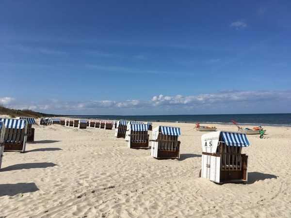 Strand in Richtung Karlshagen
