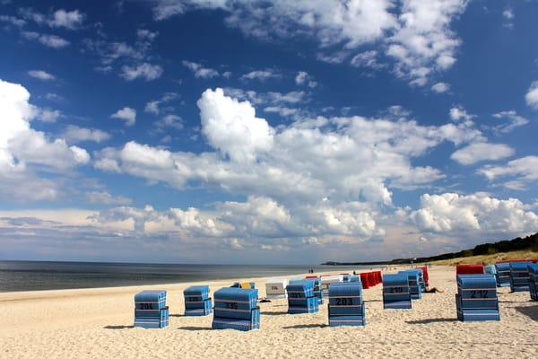 Strand Trassenheide in Richtung Zinnowitz