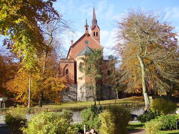 Evangelische Kirche in Heringsdorf.