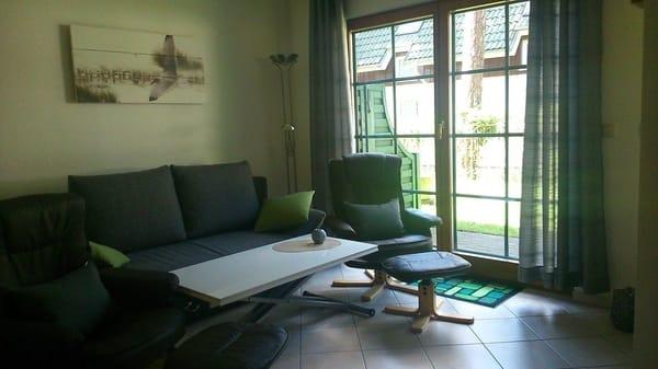 für Gemütlchkeit ist auch gesorgt, das Sofa wird mittels Hubmatik in ein Schlafsofa verwandelt