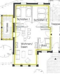 Grundriß der Wohnung Nr. 8  EG /links