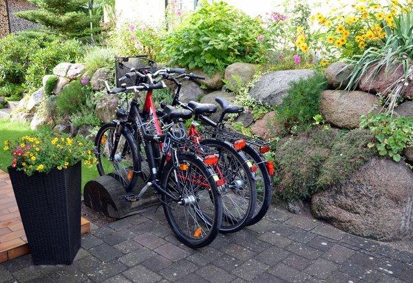 Abstellmöglichkeiten für Fahrräder