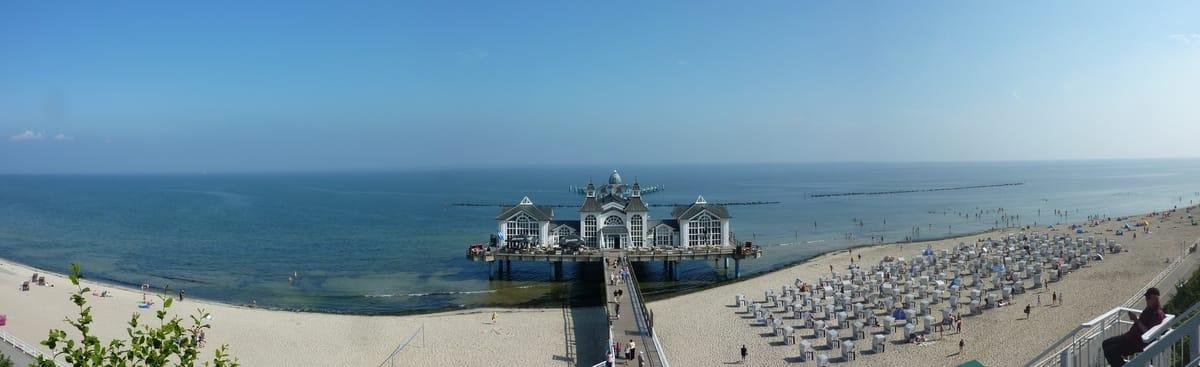 Selliner Seebrücke - Panorama