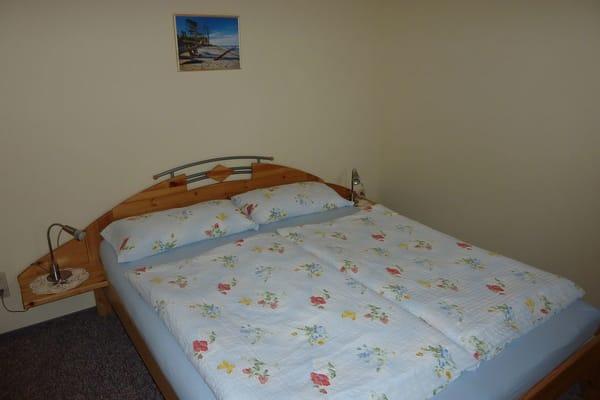 1.Schlafraum mit Doppelbett 160x200
