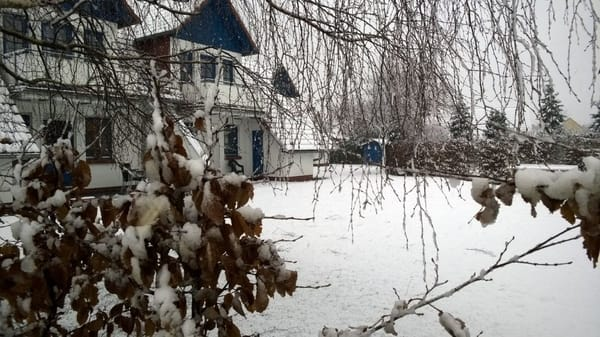 Winter in der Ferienwohnanlage Sonnenschein