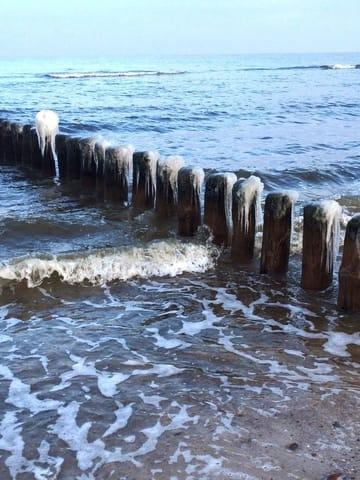 die Ostsee im Winter