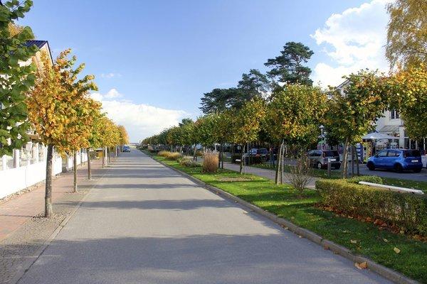 Baabe Strandpromenade