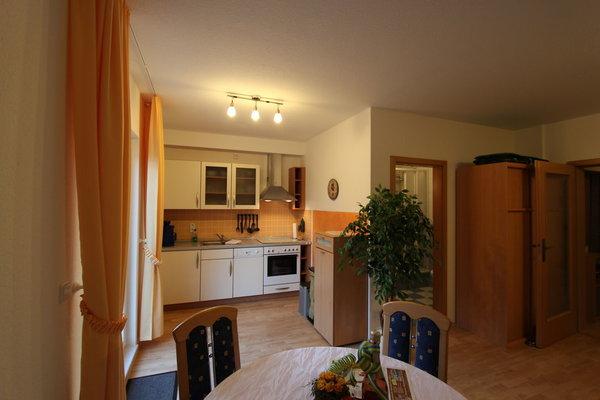 Küchenzeile im Wohnzimmer