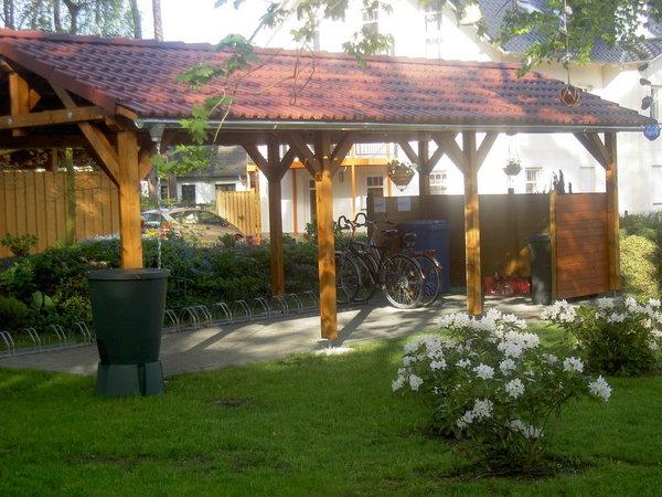 Carport für Ihre Fahrräder