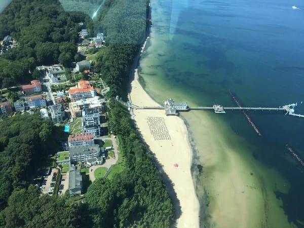 Selliner Hauptstrand mit Seebrücke