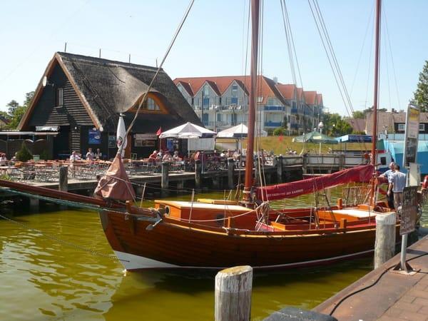am Boddenhafen Zingst