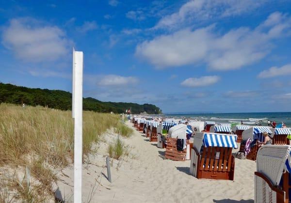Ostseebad Baabe, Strand