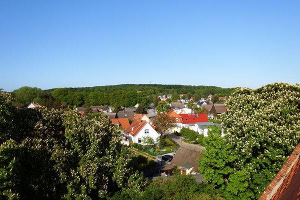 Koserow vom Kirchturm