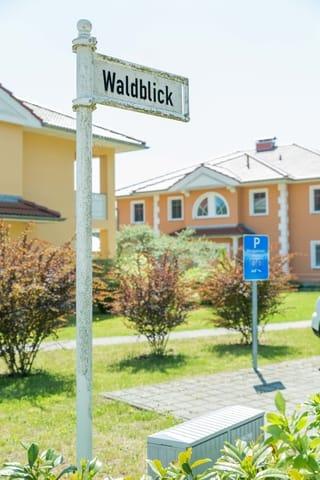 Waldblick - Hauseigener Parkplatz