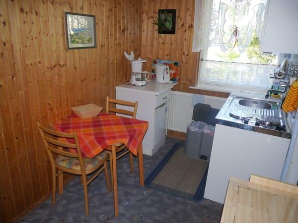 2 Sitzplätze in der Küche