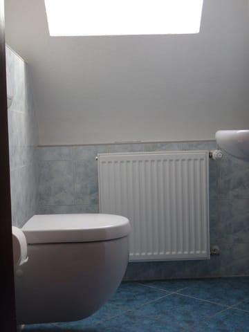 Gäste-WC für Zimmer 1 & 2