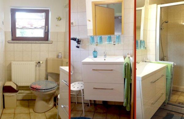 WC mit Dusche