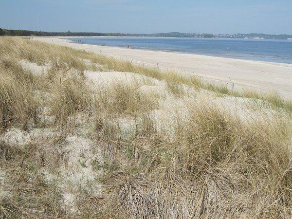 endlos feinster Sand: Südstrand von Göhren bis Thiessow