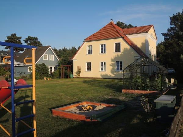 Nordseite vom Haus