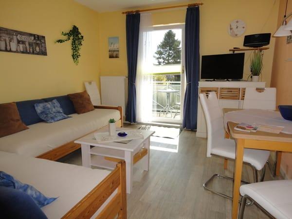 Wohnzimmer oder Wohnschlafraum.