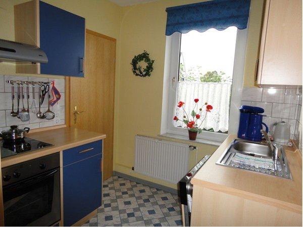 Küche Nr.2: mit Geschirrspüler, Mikrowelle,Kühlschrank,Gefrierfach und alles was man so braucht.